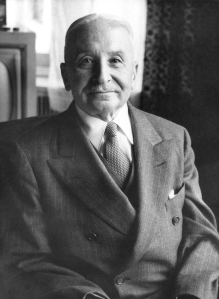 Ludwig Von Mises Proponent of the Austrian School of Economics